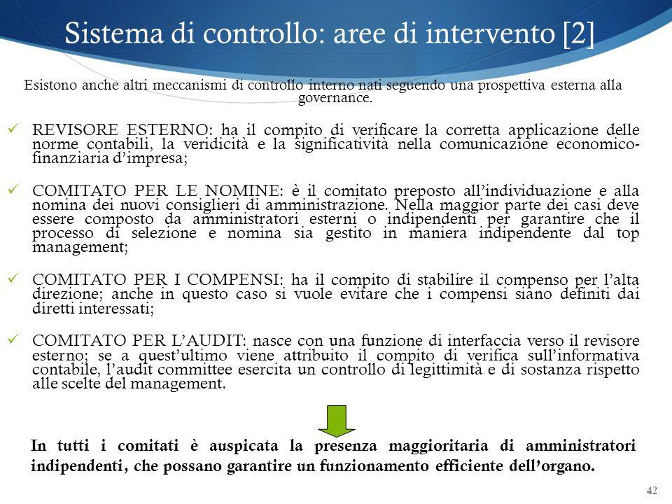 Sistema di controllo: aree di intervento [2]